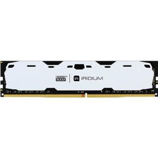 GOODRAM Iridium White DDR4 2400MHz 4GB (IR-W2400D464L15S/4G)