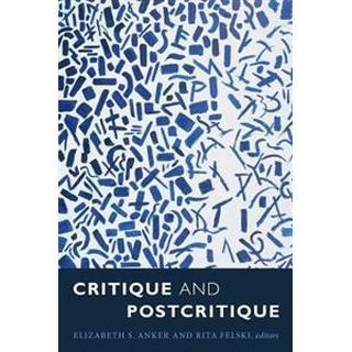 Critique and Postcritique, Paperback