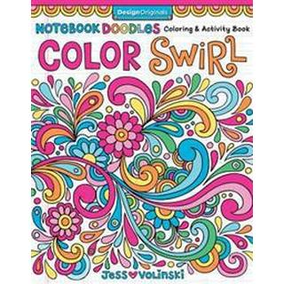 Notebook Doodles Color Swirl: Coloring & Activity Book, Hæfte