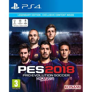 Pro Evolution Soccer 2018 - Legendary Edition