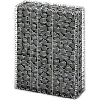 vidaXL Gabion Basket Wall with Lids 100x80x30cm