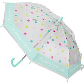 Happy Rain Bambino Umbrella White/Blue
