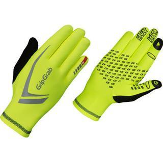 Gripgrab Running Expert Hi-Vis Gloves - Neon Yellow