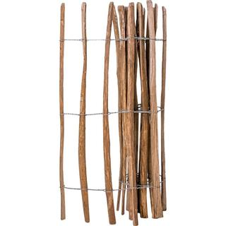 vidaXL Impregnated Hazel Wooden Fence 250x120cm