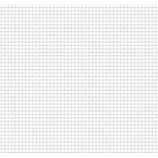 vidaXL Crimped Wire Mesh Panel Fence 50x50cm 142286