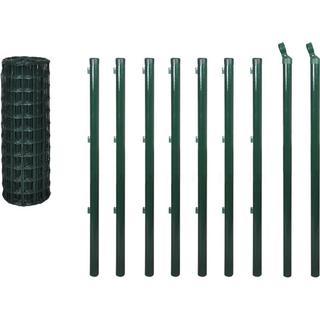 vidaXL Euro Fence Set 10mx120cm 142394