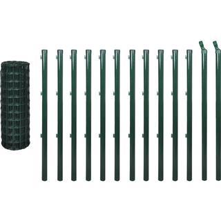 vidaXL Euro Fence Set 25mx120cm 142400