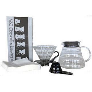 Hario V60 Glas Kaffebrygger Kit