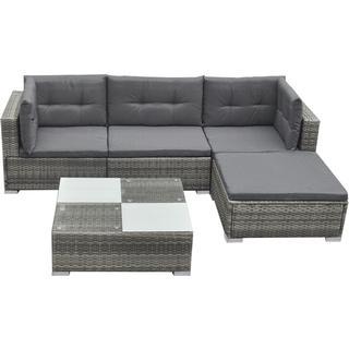 vidaXL 42735 Loungesæt, 1 borde inkl. 1 sofaer