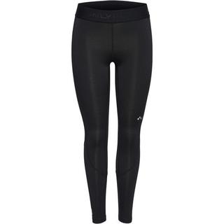 Only Solid Training Tights Women - Black/Black