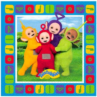 Amscan Napkins Teletubbies Luncheon 16-pack
