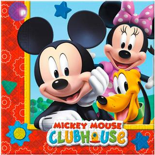 Disney Napkins Musses Clubhouse 20-pack