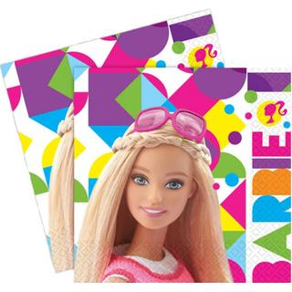 Amscan Napkins Barbie Sparkle Luncheon 20-pack
