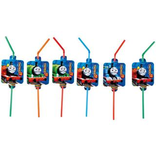 Amscan Straw Drinking Thomas & Friends