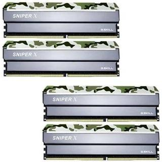 G.Skill Sniper X DDR4 3000MHz 4x16GB (F4-3000C16Q-64GSXFB)