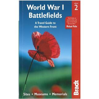 World War I Battlefields: A Travel Guide to the Western Front: Sites, Museums, Memorials, Hæfte