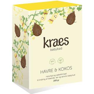 Kraes Babybad Havre & Kokos 200g