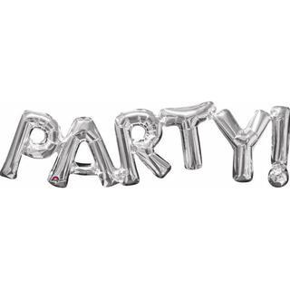 Amscan Foil Ballon SuperShape Phrase Party Silver