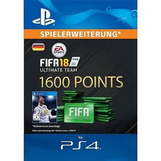 Electronic Arts FIFA 18 - 1600 Points - PS4