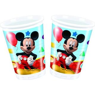Disney Plastic Cup Mickey Mouse Clubhouse 8-pack