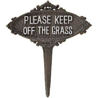 Esschert Design Keep Off The Grass Sign TT207
