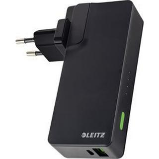 Leitz Complete USB Travel Wall Charger and Power Bank 3000mAh