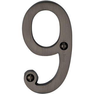 M.Marcus Heritage Brass Number 9 (C1560 9-MB)