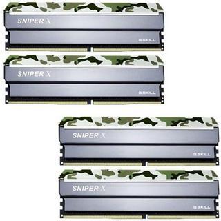 G.Skill Sniper X DDR4 3000MHz 4x8GB (F4-3000C16Q-32GSXFB)