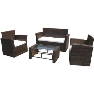 vidaXL 40306 Sofa Loungesæt, borde inkl. 2 stole & 1 sofaer