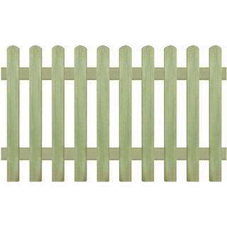 vidaXL Picket Fence 170x60 43573