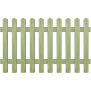vidaXL Picket Fence 170x100 43575