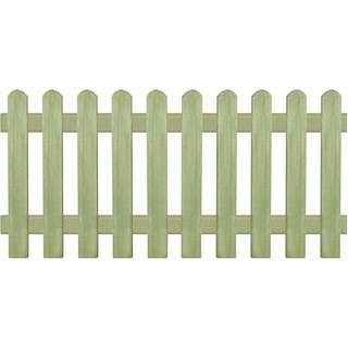 vidaXL Picket Fence 170x80cm 43574