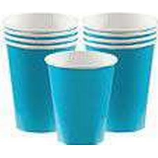 Amscan Paper Cup Carribean Blue 8-pack