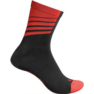 Gripgrab Racing Stripes Sock Unisex - Red