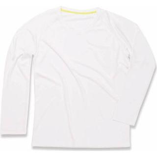 Stedman Active 140 Long Sleeve Men - White