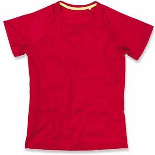 Stedman Active 140 Raglan Women - Crimson Red