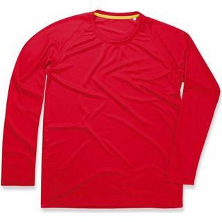 Stedman Active 140 Long Sleeve Men - Crimson Red