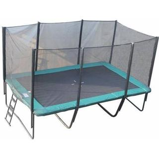 Bandito Square Trampoline 512x305cm + Safety Net