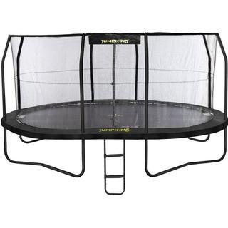 Jumpking Oval JumpPod Trampoline 520x425cm