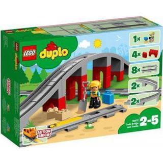 Lego Duplo Togbro og Spor 10872