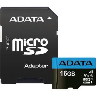 Adata Premier microSDHC Class 10 UHS-I U1 V10 A1 85/25MB/s 16GB +Adapter