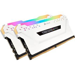 Corsair Vengeance RGB LED Pro White DDR4 3600MHz 2x8GB (CMW16GX4M2C3600C18W)