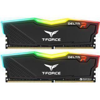 Team Group T-Force Delta RGB LED Black DDR4 3000MHz 2x16GB (TF3D432G3000HC16CDC01)