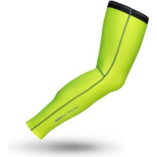 Gripgrab Classic Thermal Hi-Vis Leg Warmers Unisex - Fluo Yellow