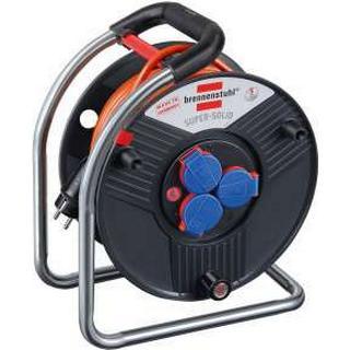 Brennenstuhl Super-Solid BQ 1308940 3-way 25m Cable Drum