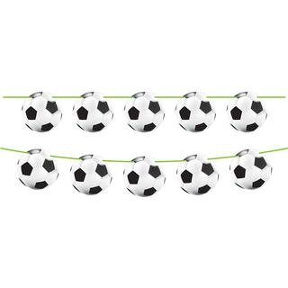 Folat Garlands Flag Line Football White/Black