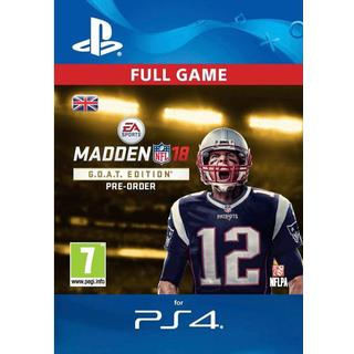 Madden NFL 18: G.O.A.T Edition