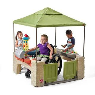 Step2 All Around Playtime Patio with Canopy • Se priser ...