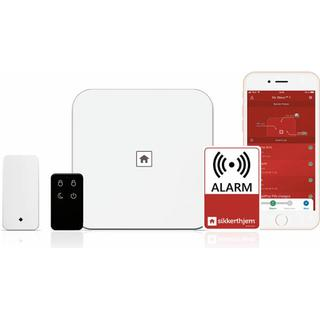 SikkertHjem S6evo Alarm System Starter kit