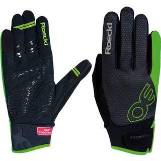 Roeckl Riga Gloves Unisex - Black/Green